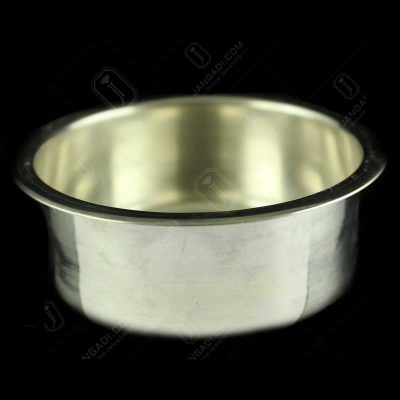 Silver Coffee Cup