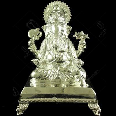 Silver Ganesha Idols