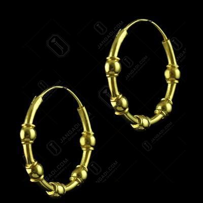 Gold Plated Bali Earring