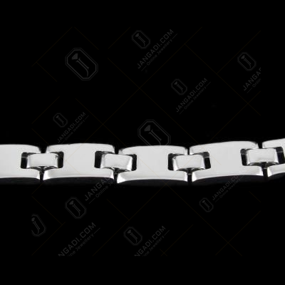 Silver Fancy Bracelet For Mens